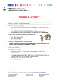 Mobbing-Policy