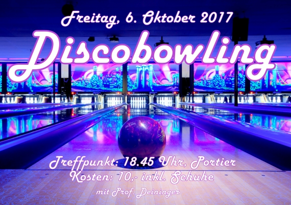 Discobowling, 6.10.2017