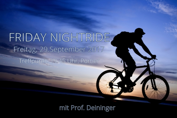 Friday Nightride, 29.9.2017