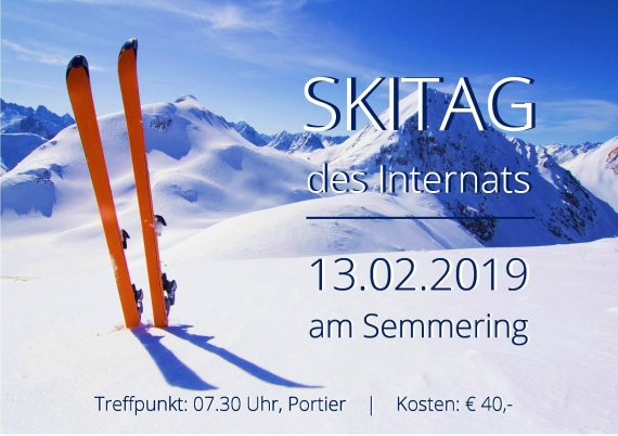 Skitag des Internats