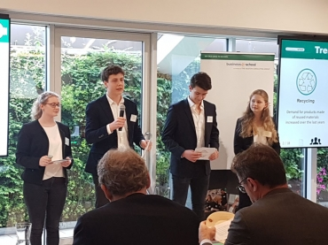 2. Platz in den International Finals von business@school bei BCG in Mailand